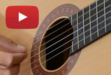 Tutos, leçons, cours gratuit guitare sur YouTube